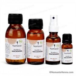 Macadamia - Aceite Vegetal Puro BIO - Namasté