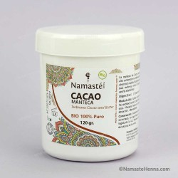 Cacao Manteca BIO - Primera Presión en Frío - Namasté