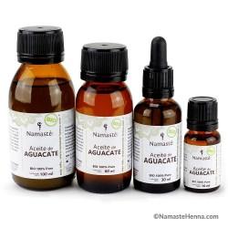 Aguacate - Aceite Puro BIO 100 % Vegetal - Varios Tamaños