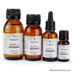 Sésamo - Aceite Virgen Puro Bio 100 % Vegetal - Varios Tamaños