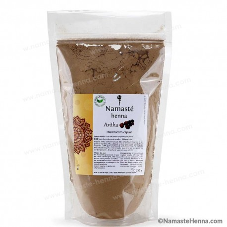 Aritha - Reetha en Polvo - Champú Ayurvédico Natural - 250 g